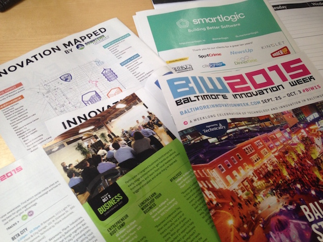 SmartLogic round-up of Baltimore Innovation Week