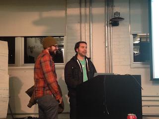 Brian Sierakowski at Baltimore Hackathon