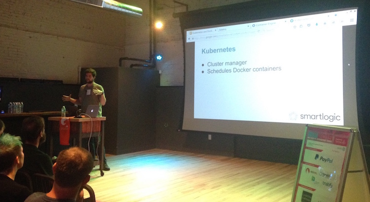 SmartLogic's Eric Oestrich presents on Kubernetes at Baltimore Innovation Week