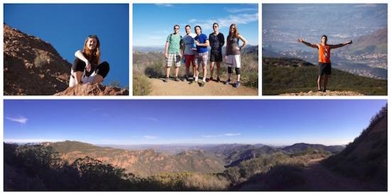 SmartLogic Retreat Hiking Collage, Photos by Matt Menefee