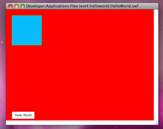 HelloWorld Screenshot