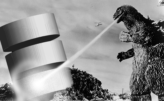 While solving this problem with Godzilla is tempting, there is a better solution.