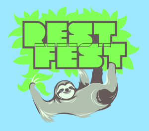 The RESTFest 2014 t-shirt, designed by SmartLogic's Ryan DeStefano.