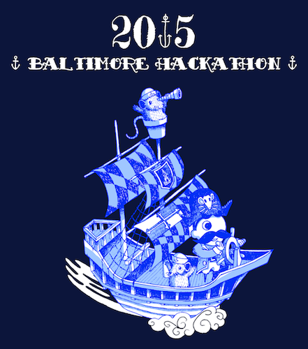 SmartLogic reveals the 2015 Baltimore Hackathon t-shirt design