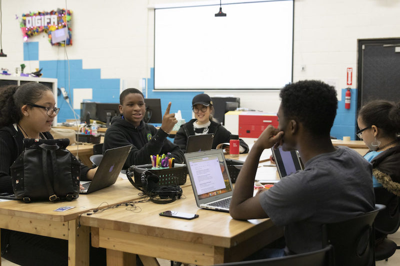 image of students collaborating